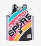 Mitchell And Ness  Big Face Jersey Spurs  Black - MSTKBW19068-SAN | Jimmy Jazz