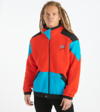 The North Face  90 Extreme Fleece Full Zip Sweatshirt  Red - NF0A4AGK-LKD | Jimmy Jazz
