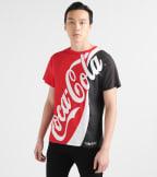 Freeze  Coca Cola Split Tee  Red - O7SN125-RBW | Jimmy Jazz