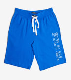 Polo  Logo Shorts  Blue - PK21SR-1ZK | Jimmy Jazz