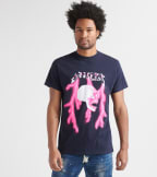 Rock Star  Bleed Em All Tee  Navy - RSM5050BLD-NVY | Jimmy Jazz