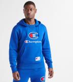 Champion  Century Pullover Hoodie  Blue - S4309550154-GUX | Jimmy Jazz