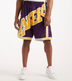 Mitchell And Ness  Big Face Short Lakers  Purple - SHORBW19069-LAL | Jimmy Jazz