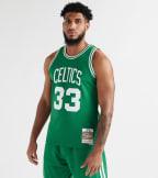 Mitchell And Ness  Celtics Larry Bird Swingman Jersey  Green - SMJYGS18142BCE-KGN   Jimmy Jazz