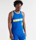Mitchell And Ness  Chris Webber Warriors Swingman Jersey  Blue - SMJYGS18168GSW-RYL   Jimmy Jazz