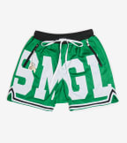 Smugglers Moon  Smugglers Athletic Mesh Shorts  Green - SMKB002-GRN | Jimmy Jazz